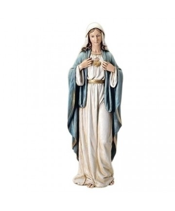 """Immaculate Heart of Mary 40"""" Statue from Renaissance Collection"""