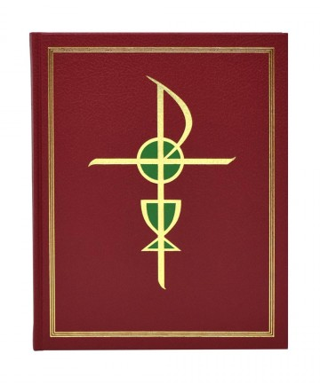"Excerpts from the Roman Missal - 8.5"" x 11"" Clothbound Edition"