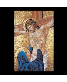 Mosaic Stations of the Cross by Demetz Art Studio