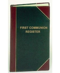 First Communion Register for 2,000 Entries