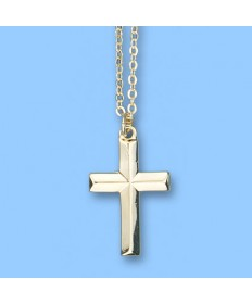 Pendant - Beveled Cross
