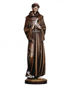St Francis of Assisi with Dove Statue by Demetz Art Studio