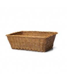 "Rectangular 4"" deep Collection Basket without Liner"