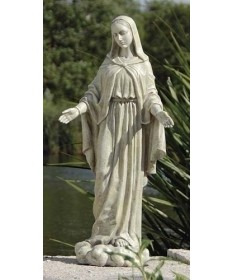"Our Lady of Grace 24"" Garden Statue from Renaissance Collection"