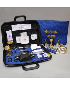 Travel Mass Kit with Ultra Thin Case (Blue Lining)