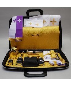 Travel Mass Kit with Ultra Thin Case (Gold Lining)