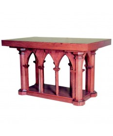 "Altar 60""W x 36""D x 39""H by Woerner Industries"