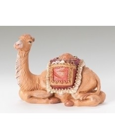 "Fontanini 5"" Children's Camel with Saddlebags"