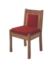 "Side Chair with Upholstered Seat and Back, 20""W x 20""D x 35""H"