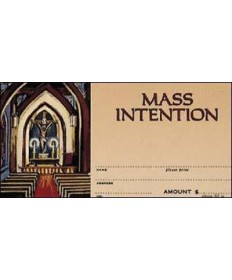 Mass Intention Offering Envelopes