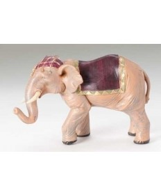 "Fontanini 5"" Elephant with Saddle Blanket"