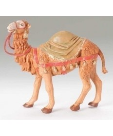 "Fontanini 5"" Camel with Saddle Blanket"