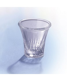 "Crystal Communion Glasses 1-1/2""H (box of 20)"