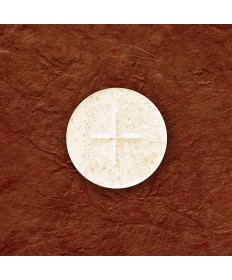 "1-1/8"" White Altar Bread by Cavanagh Co (Box of 1,000)"