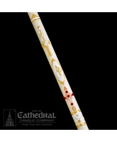 Classic Ornamented Paschal by Cathedral Candle Co