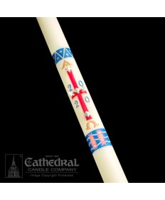 Classic Benedictine Paschal by Cathedral Candle Co