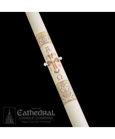 Classic Investiture Paschal by Cathedral Candle Co