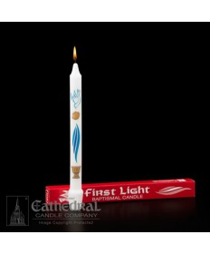 Baptismal Candle First Light 9-1/4""
