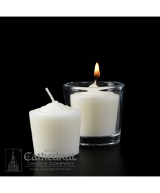 10 Hour Tapered 51% Beeswax Votive Candles