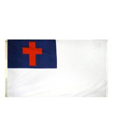 Nyl-Glo Christian Flag for Outdoor Display