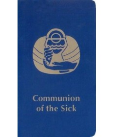 Communion of the Sick - Blue Paperback