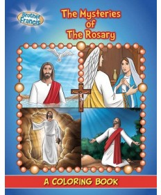 Brother Francis: The Mysteries of the Rosary Coloring & Activity Book