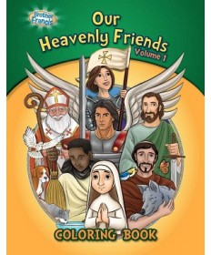 Brother Francis: Our Heavenly Friends Coloring & Activity Book (Volume 1)