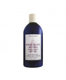 Immaculate Waters Rose Scented Bath and Shower Liquid Soap