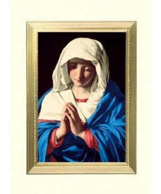 Mass Cards for Living - The Virgin in Prayer