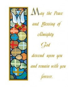 Mass Cards for Living - Peace of God
