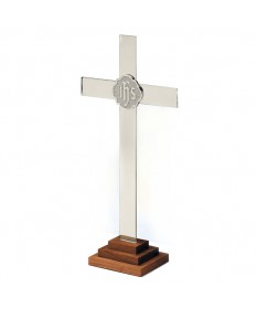 Altar Cross - Chapel Line in Silverplate