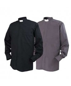 ∗SALE∗ Clergy Shirt by Reliant - Tab Collar Long Sleeve (Sizes 17.5-20)